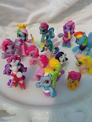 my little pony lot cake topper bath toys rainbow dash ...