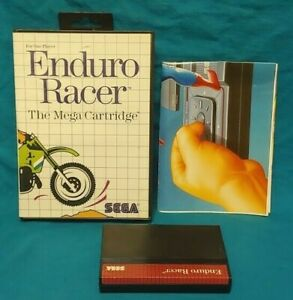 Enduro-Racer-SEGA-SMS-Master-System-Rare-Game-Works-Complete-Authentic