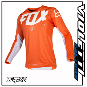 FOX-RACING-360-KILA-JERSEY-ORANGE-ARANCIO-KTM-MAGLIA-MAGLIETTA-CROSS-ENDURO