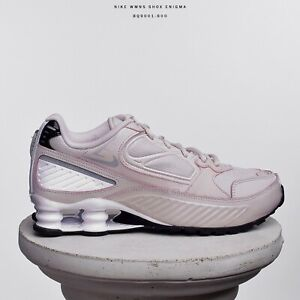 Details about Nike WMNS Shox Enigma 9000 Women Lifestyle Sneakers New  Barely Rose BQ9001-600