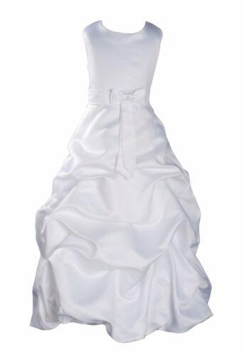 Robe Demoiselle Honneur Fleur Robe Fille Robe Bal 18 Mois pour 12 Ans