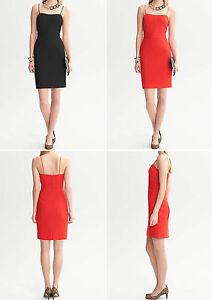NWT-Banana-Republic-New-130-00-Women-Piped-Corset-Dress-Size-8-10-12P-14