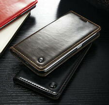 Luxury Leather Wallet Card Holder Flip Case Cover For Samsung Galaxy S7 EDGE S8