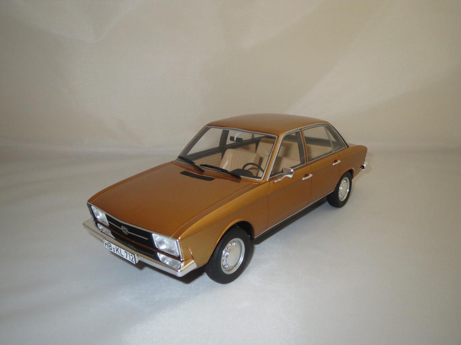 BOS Volkswagen k70  1970  (dunkelor-Metallic) 1 18 neuf dans sa boîte    (A)