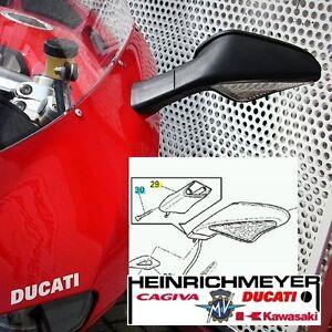 Ducati-1098-848-Extension-de-Miroir-Kit-Piece-D-039-Ecartement