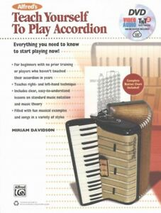 Alfred-039-s-Teach-Yourself-to-Play-Accordion-Paperback-by-Davidson-Miriam-ISB