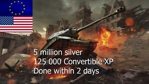 Details about World of Tanks| 5 mil silver | 2 days! | WOT | (Not Bonus  Code)