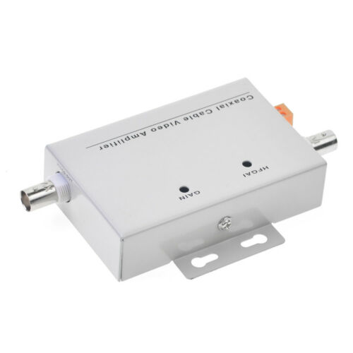 EE/_ Coaxial Cable BNC Video Signal Amplifier Booster Security CCTV Camera Welcom