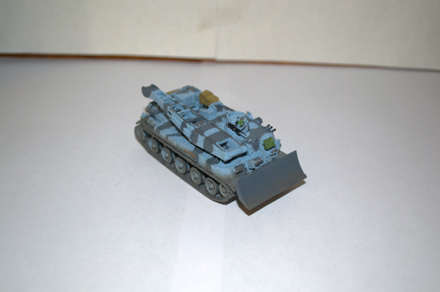 1 72 PROFESSIONAL BUILT MODEL AMX 30D RECOVERY VEHICLE