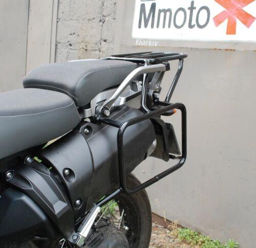 Yamaha XT1200Z Super Tenere Whole-welded luggage rack system Black Mmoto YAM0164