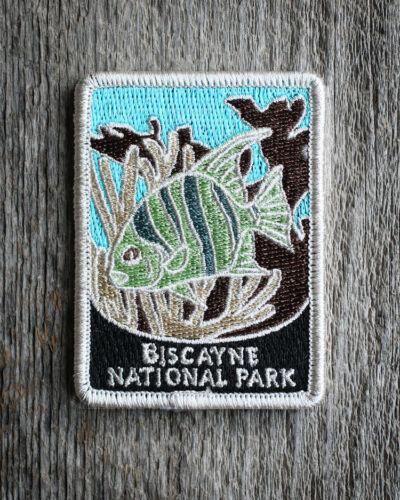 Biscayne National Park Souvenir Patch Traveler Series Iron-on Florida