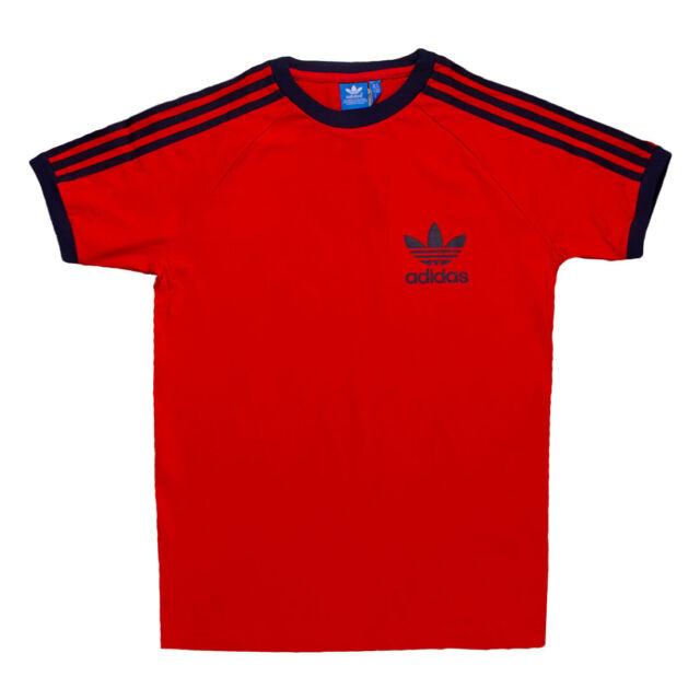 apariencia elegante mirada detallada fuerte embalaje adidas originals Essentials T Shirt Mens White Black Red Blue 3 ...