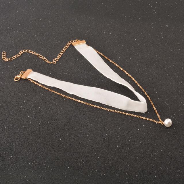 Gothic Black Lace Retro Choker Collar Necklace Jewelry Lace Flower Pendant Retro