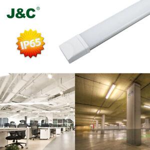 LED-Feuchtraumleuchte-Leuchtstoffroehre-Wannenleuchte-Kellerleuchte-120cm-36W