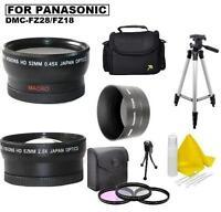 Accessory Kit For Panasonic Lumix Dmc-fz18 Dmc-fz28 Dmc-fz35 Dmc-fz38