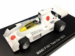 1-43-Maki-F101-Test-Voiture-1974-fomula-Hiroshima-Sho-Hayami-avec-suivi-NEUF