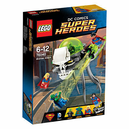 Lego ® súper Heroes 76040 DC Universe brainiacs ataque Manhunter nuevo embalaje original New