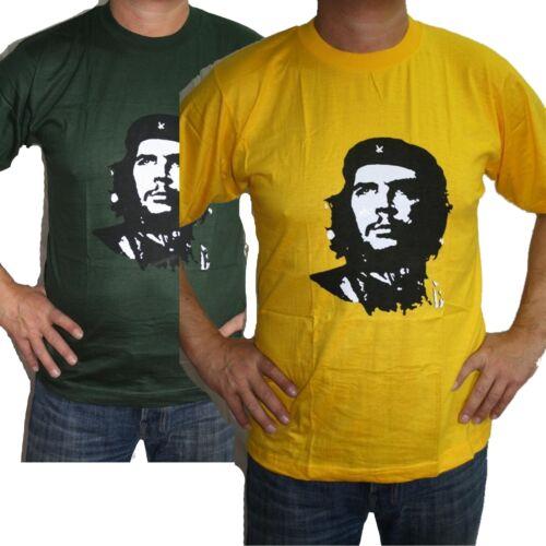 T Shirt Che Guevara Baumwolle Herrenshirt Indien Goa Hippie Revolution Hero