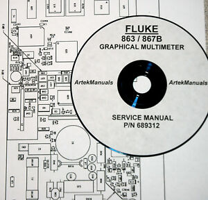 Details about FLUKE Service Manual for 863 / 867B Graphical Multimeter on