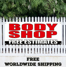 Banner Vinyl Body Shop Advertising Sign Flag Many Sizes Collision Repair