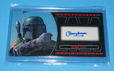 STAR WARS TOPPS RETURN OF THE JEDI 3D WIDEVISION BOBA FETT AUTOGRAPH CARD