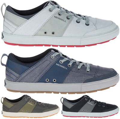 merrell rant discovery lace canvas sneakers casual