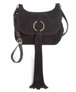INC-INTERNATIONAL-CONCEPTS-Sianna-Saddle-Black-Suede-Crossbody-Handbag