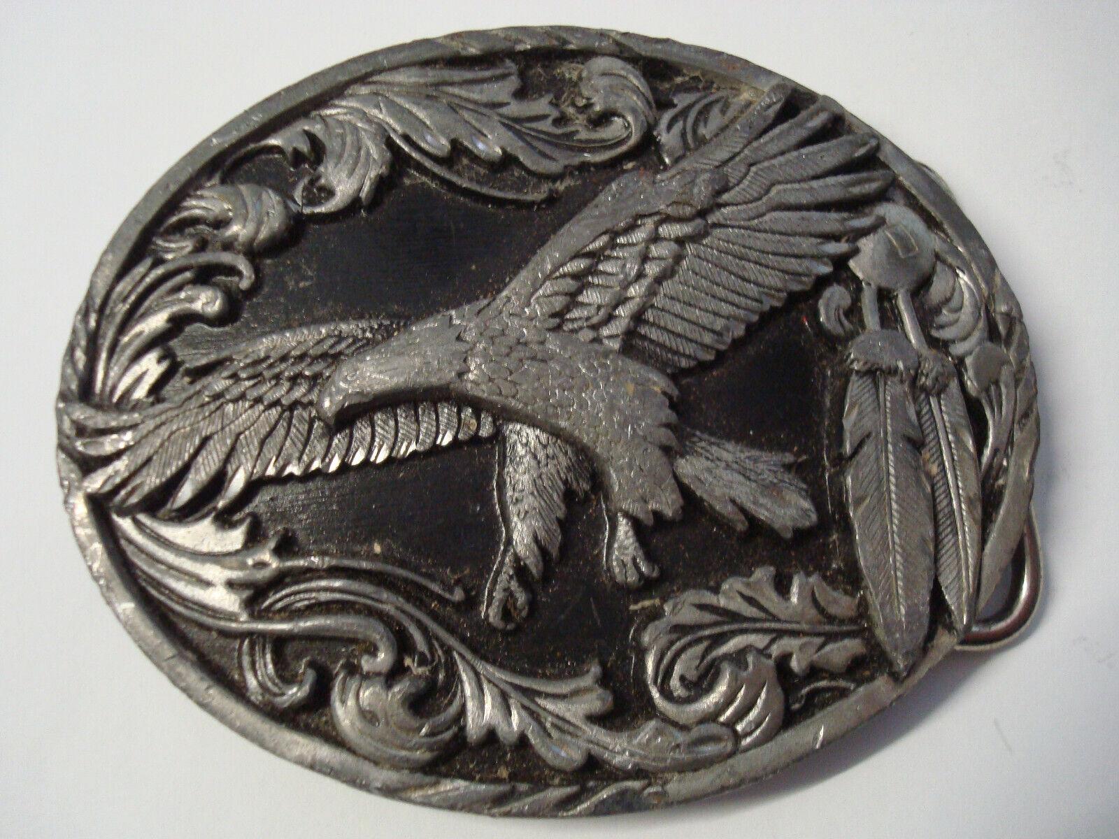 Siskiyou Gürtelschnalle; USA 1995; Buckle; Adler; Eagle