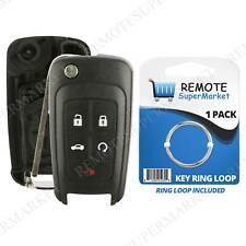 Replacement For Chevy Camaro Cruze Equinox Malibu Remote Key Fob 5b Shell Case Fits 2012 Chevrolet Cruze Lt