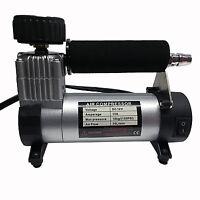 Car Portable Electric Air Compressor (Silver & Black)