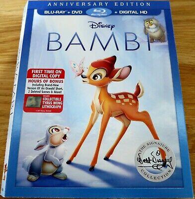 Bambi 1942 Disney Anniversary Edition Slipcover Only Ebay