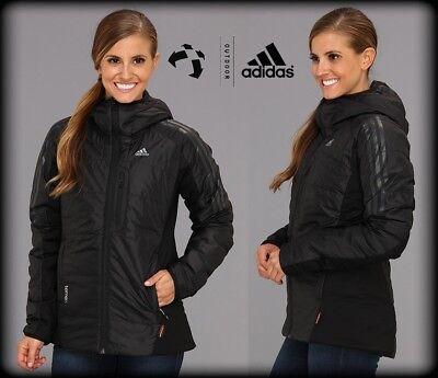 Adidas Ndosphere Terrex Women's Primaloft Packable Outdoor Jacket Cocona Hikking | eBay
