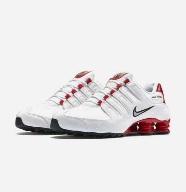 Size 14 - Nike Shox NZ White - 378341-110
