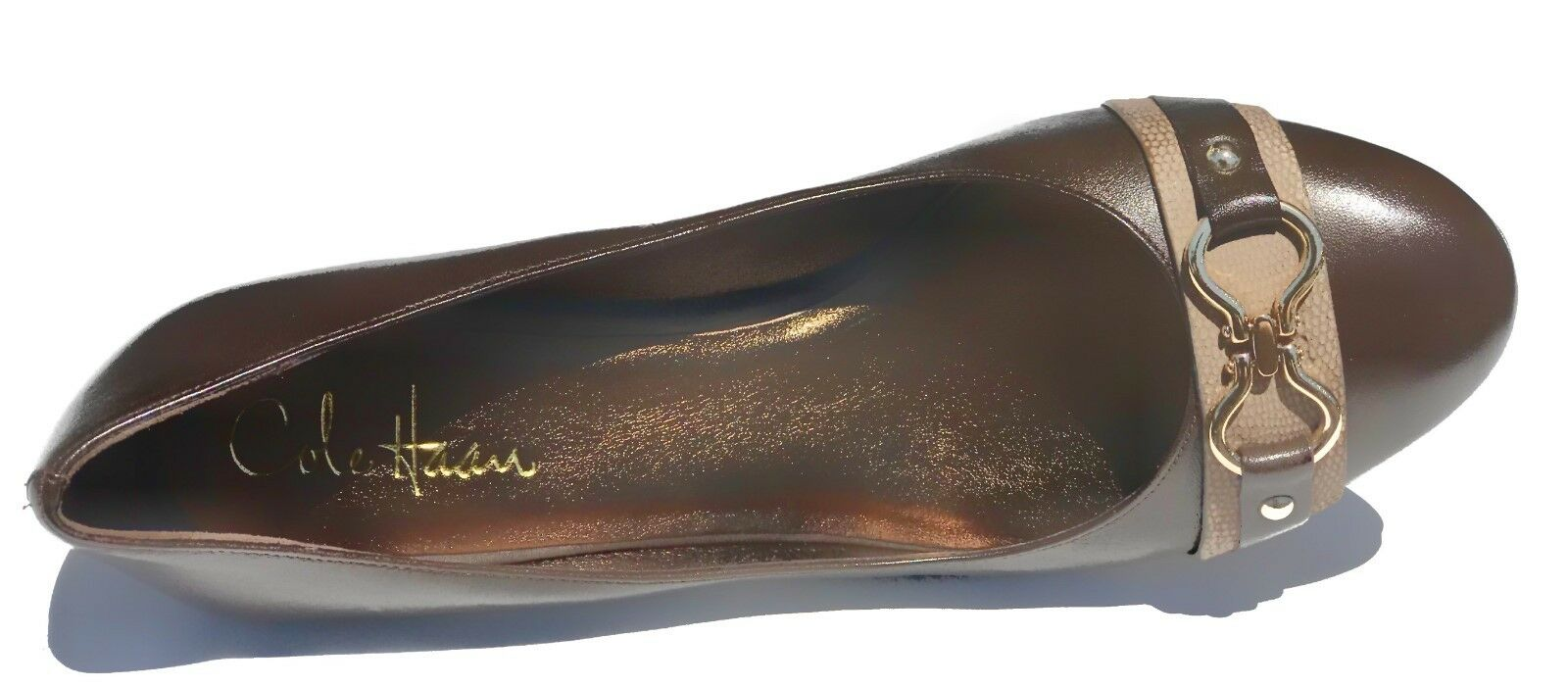 Cole Cole Cole Haan AIR LAINEY Chocolate Leather Pump Heels shoes Womens 9.5 NEW IN BOX b7f23b