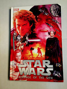 STAR-WARS-Revenge-of-the-Sith-Episode-III-Graphic-Novel-TPB-Hard-Cover-HC