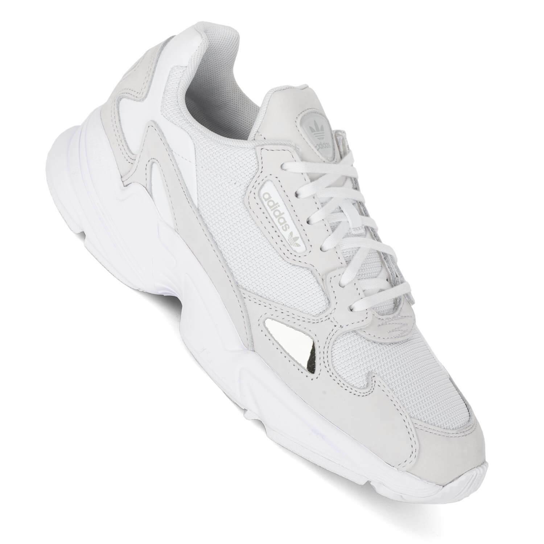 Adidas Faucon W Beige Blanc - 90s Style B28128