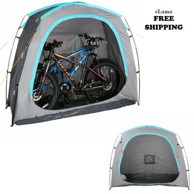 3 Bicycle Bike Shed Tent Garden Storage Cover Shelter Waterproof Outdoor Protect