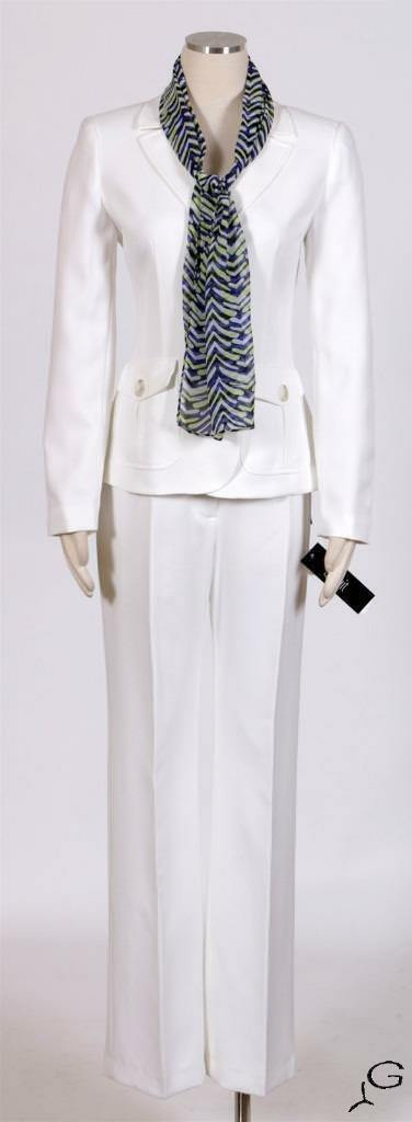 LE SUIT Vanilla Ice Sz 4 Women's Pant Suit  New