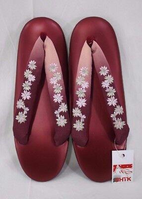 草履 Geta - Zori - Chaussures Japonaises - Japon - Pointure Fr 34 35 #153 Prodotti Di Qualità In Base Alla Qualità
