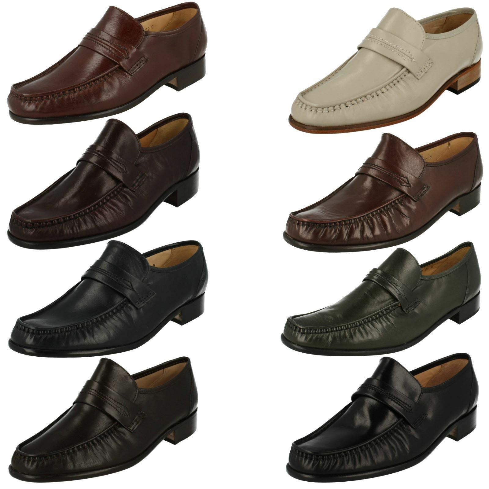 Herren Grensons Formal Moccasin Schuhes Watford