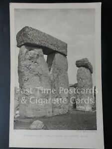 Wiltshire: Stonehenge, TRILITHONS IN HORSE SHOE, Old PC - Pub by Rembrandt Co