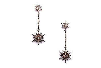 My Love from Stars Antique Elegance Star Earrings Brass Cheon Song yi Gianna Jun