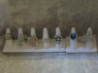 Stretch Ring Crystal Fun Fashion Jewelry One Size Fits All