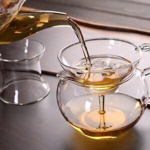 1X Glass Tea Strainer With Handle for Loose Leaf Tea Infuser Tea Filter Colander