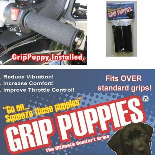 Motorcycle Grip Covers Fits All Aprilia Motorcycle Grips Free UK P/&P Grip Puppie