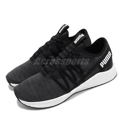 Puma NRGY Star Multi Knit Black White Men Women Unisex Running Shoes  193489-04   eBay