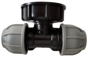 IBC-Tank-adapter-S60X6-to-MDPE-tee-pipe-fitting-25mm