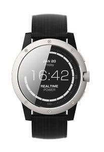 Matrix PowerWatch Men's Fitness Tracker Body Heat Powered Smart Watch 46mm PW01