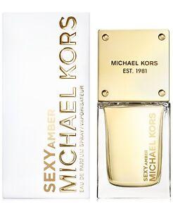 Michael-Kors-SEXY-AMBER-EDP-Eau-De-Parfum-Spray-1-fl-oz-30-ml-NEW-amp-FRESH