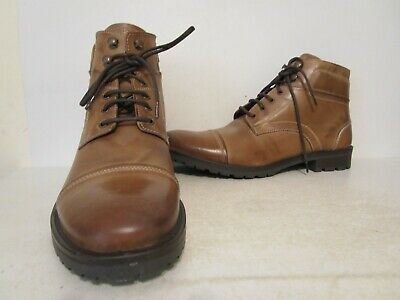 GBX Mens Bro 09150 Leather Casual Work